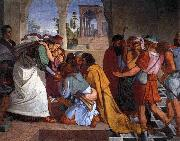 CORNELIUS, Peter The Recognition of Joseph by his Brothers oil